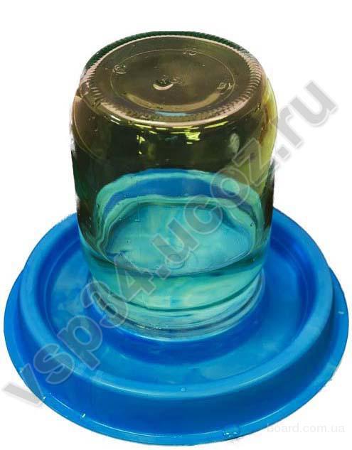 Блюдце под стеклянную банку V 0.5-3 л.