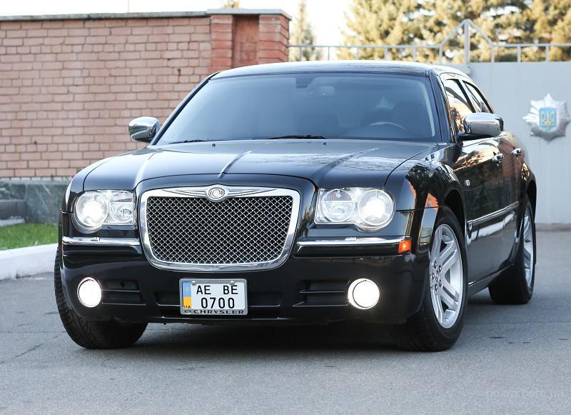Автомобиль на свадьбу Chrysler 300C