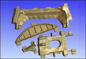 центробежное, биметаллическое литье, бронза, латунь, алюминий, чугун.