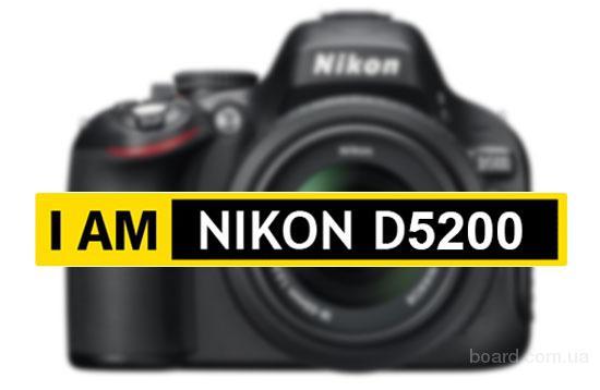 Nikon D5200 +18-105 VR