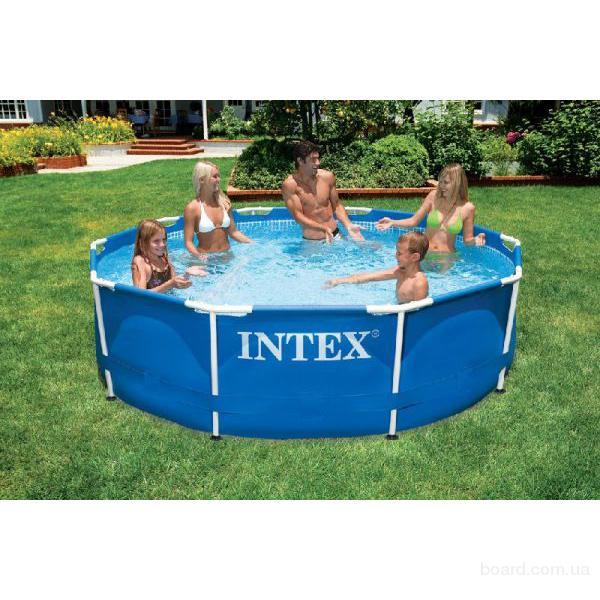 Intex Бассейн каркасный 366х76