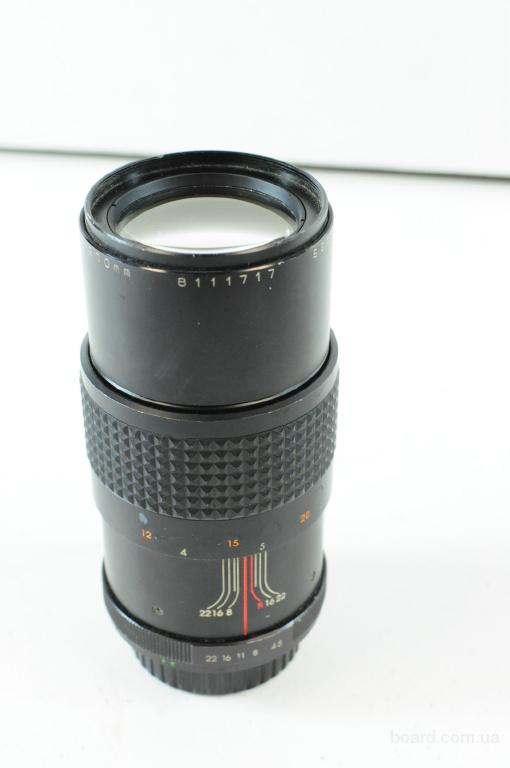 Makinon Multi Coated 200mm 1:4.5 Lens Pentax-K