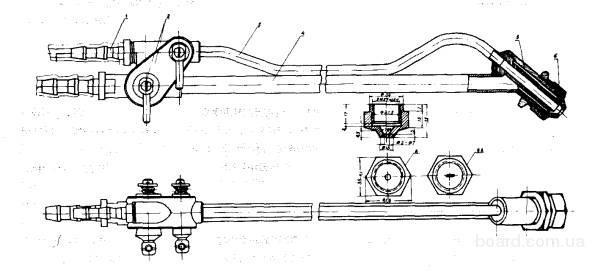 Удочка для малярных и шпаклевочных агрегатов СО-169, СО-244, СО-150Б.
