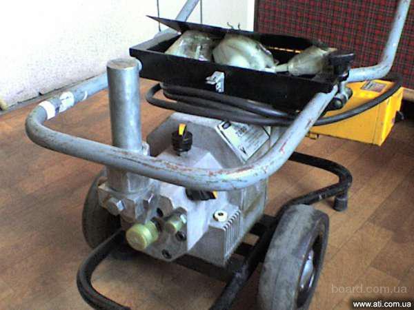 АВД 7000 Вагнер - покрасочный аппарат безвоздушного распыления краски высокого давления.
