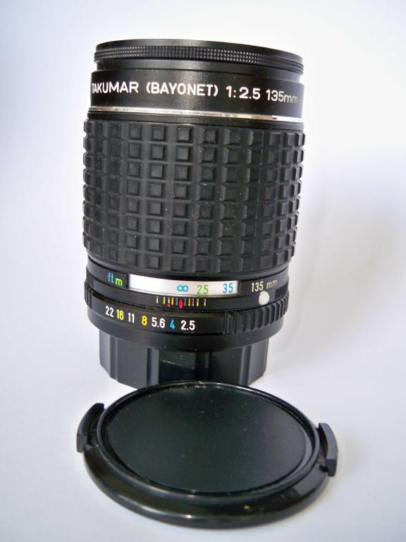 Pentax Takumar (Bayonet) 1:2.5 135mm Asahi opt lens