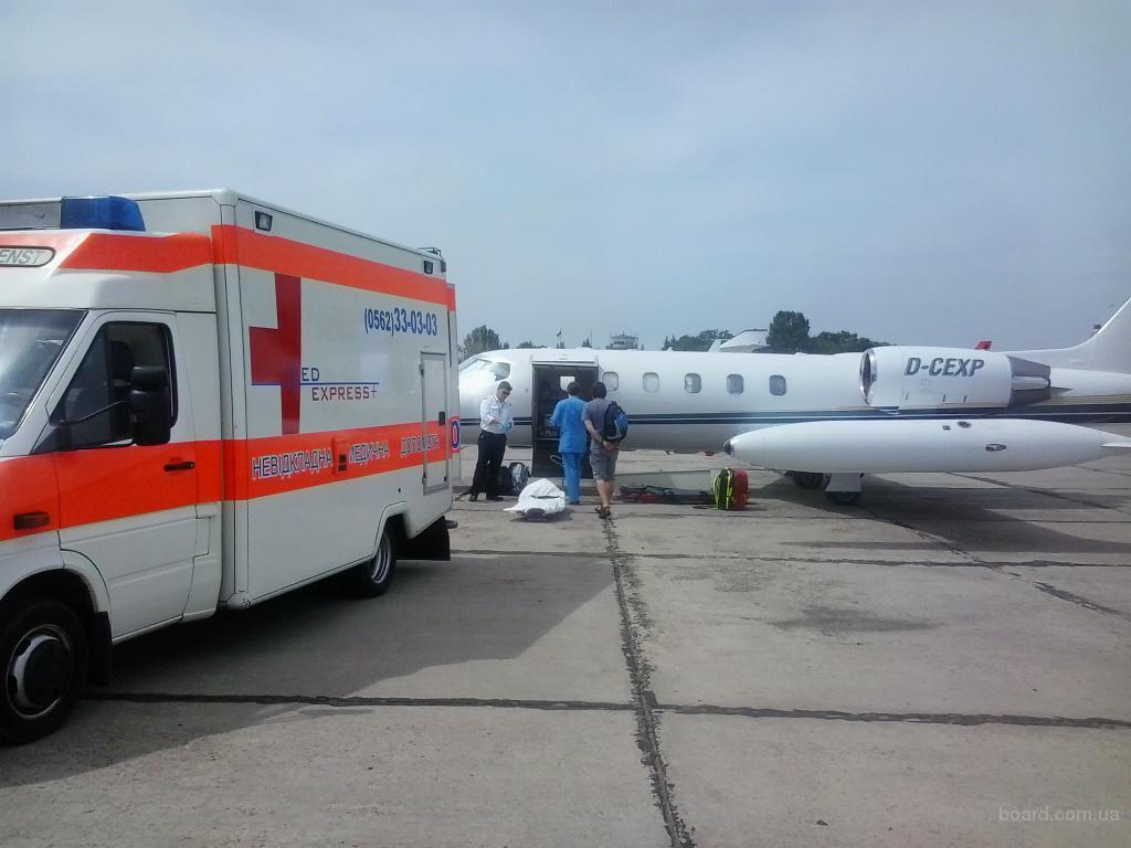 Медэкспресс - перевезти больного из Украины в Санкт-Петербург. Транспортировать больного из Санкт-Петербурга в Украину.