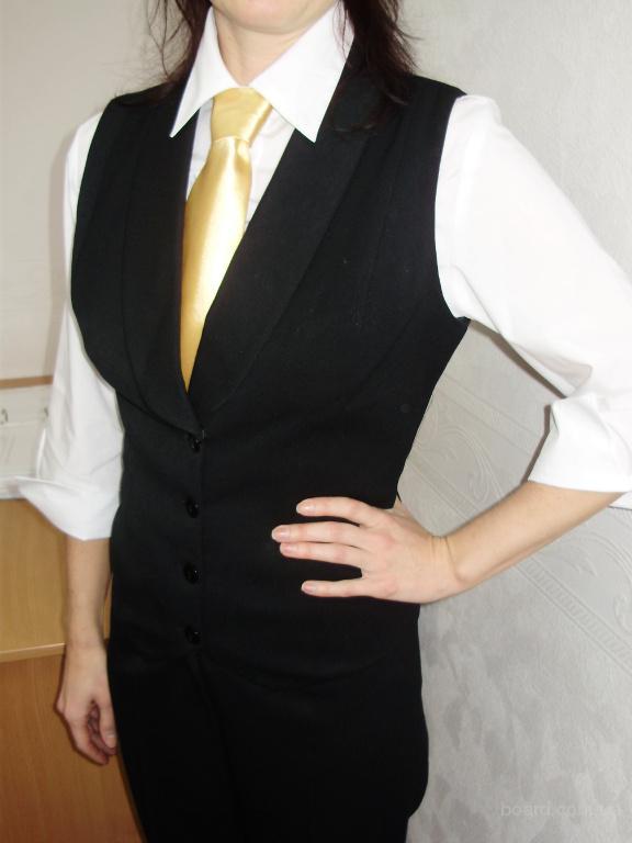 пошив жилетов для официантов, администраторов
