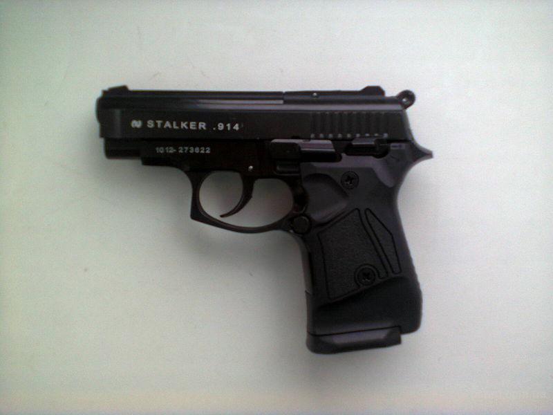 Предлагаем новый стартовый пистолет Stalker-914