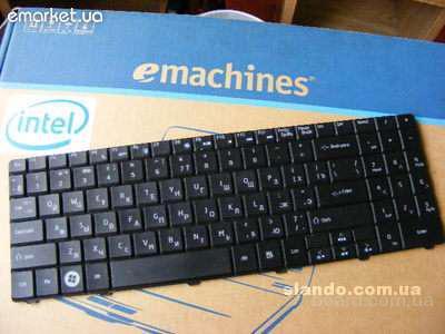 Клавиатура Acer Еmachine E525, Е725