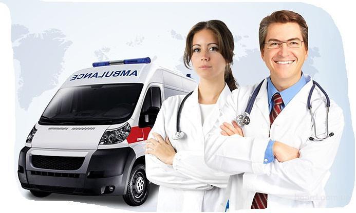 МедТранс - перевезти лежачего больного из Харькова в Кривой Рог, в Николаев, в Гомель