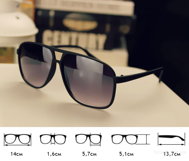 В рекламе солнцезащитных очков