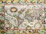 Настенная географическая карта
