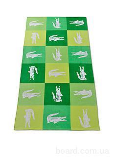 Lacoste большие шикарные пляжные полотенца из  США