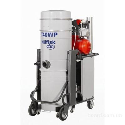 """Промышленные пылесосы NILFISK-CFM и другое уборочное оборудование от """"СП КБТ""""."""