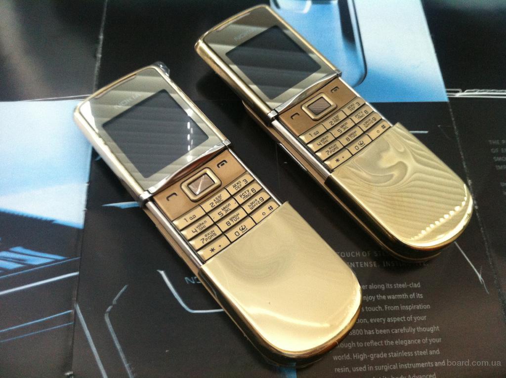 Nokia 8800 Sirocco Gold Edition Original Новая! Сертифицирована! с Гарантией!