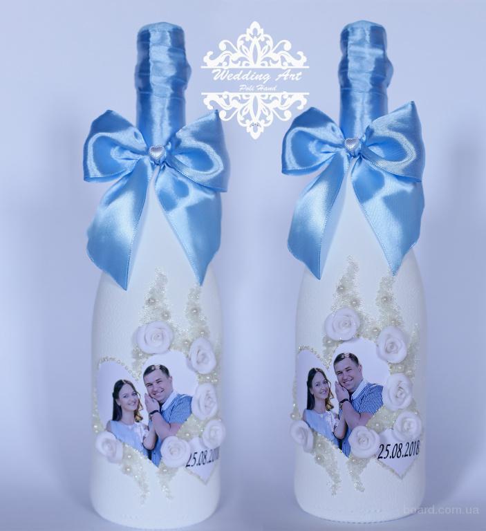Как самому оформить шампанское для свадьбы