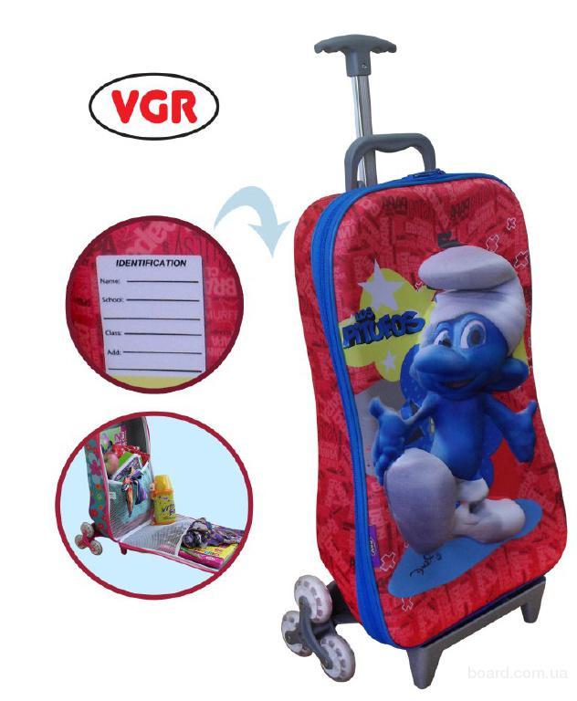 Детские чемоданы и детские рюкзаки. Летняя акция!