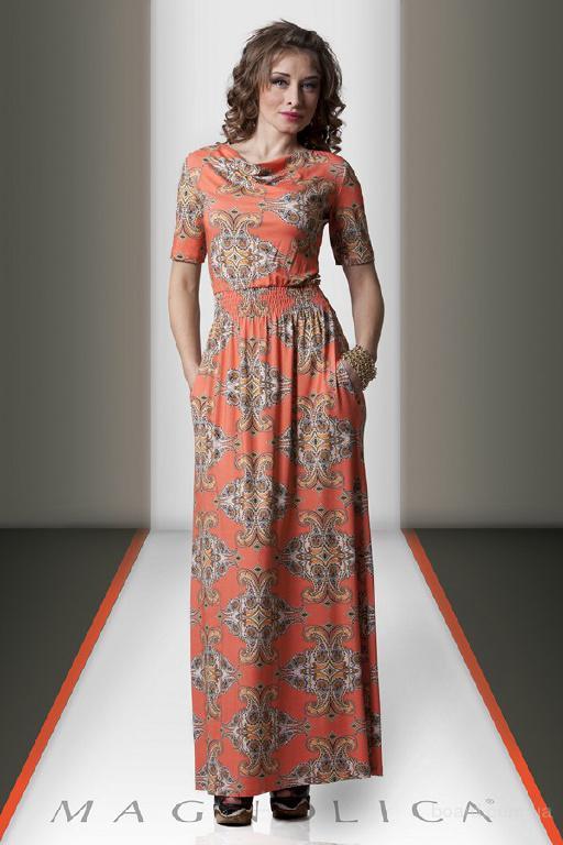 Длинное Трикотажное Платье Купить