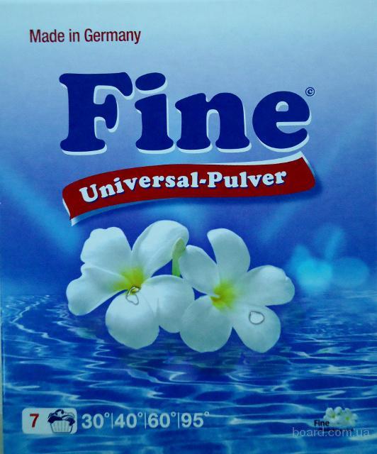 Безфосфатный стиральный порошок «Fine universal» (Германия) . Не дорого.