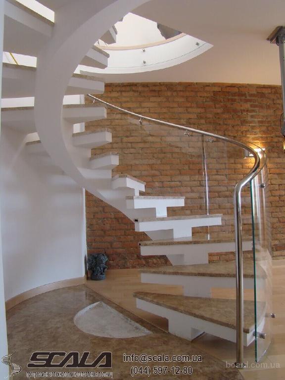 Изготовление лестниц на заказ в Киеве