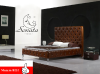 Кожаная кровать, современный дизайн, высокое качество, множество стилей, красный, белый, черный цвет