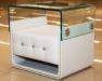 Тумба прикроватная, тумбочки в спальню,  тумбы. Кожаная мебель для спален из Германии. (Соната мобель)