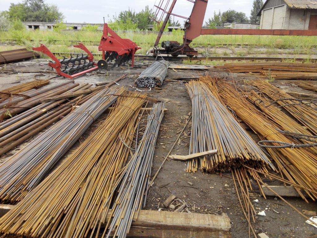 Арматура 10 мм длиной от 2-6 м , мера 6 м по 10500 грн.т