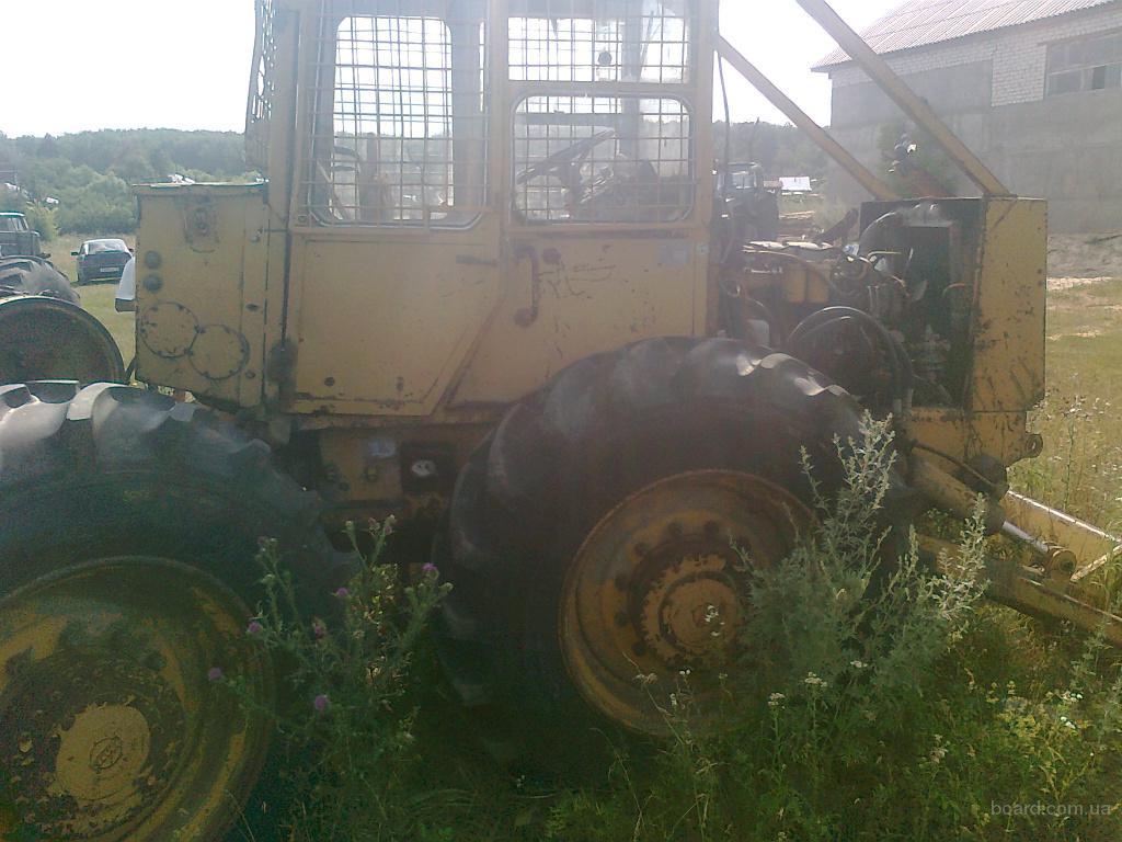 Трелевочный трактор ТДТ 55, описание