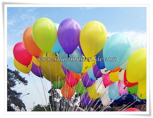 Доставка шаров с гелием Киев, воздушные шары на свадьбу, день рождения Киев.