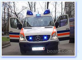 ДоброМед - транспортировать больного из Сум в Харьков, в Москву, в Гомель, в Черкассы