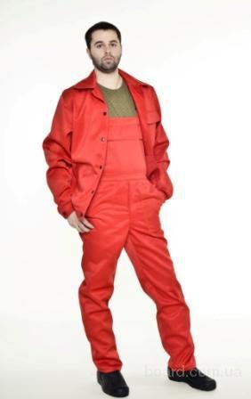 Костюм рабочий Мастер с полукомбинезоном -Пошив  и продажа одежды рабочей в Запорожье  -