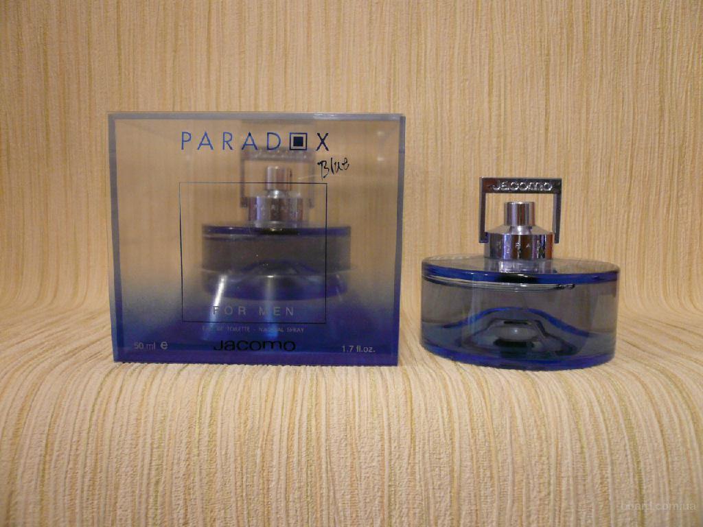 Jacomo - Paradox Blue For Men (1999) - edt 50ml - оригинал, раритет!