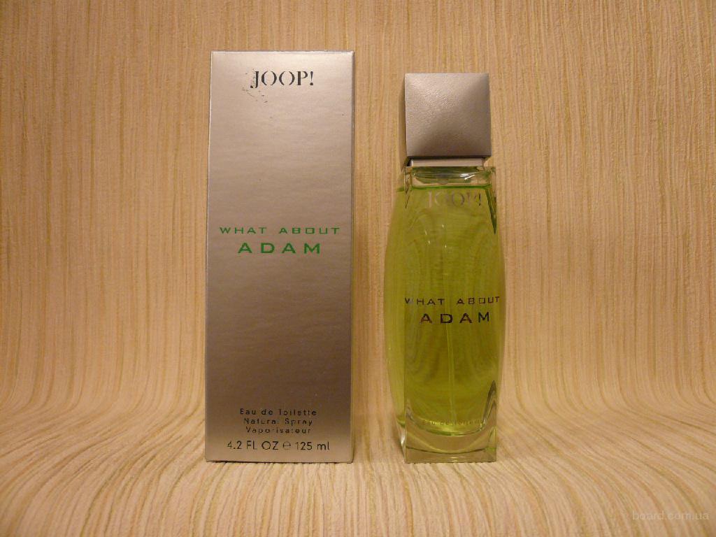Joop! - What About Adam (1992) - edt 75ml - оригинал, раритет!