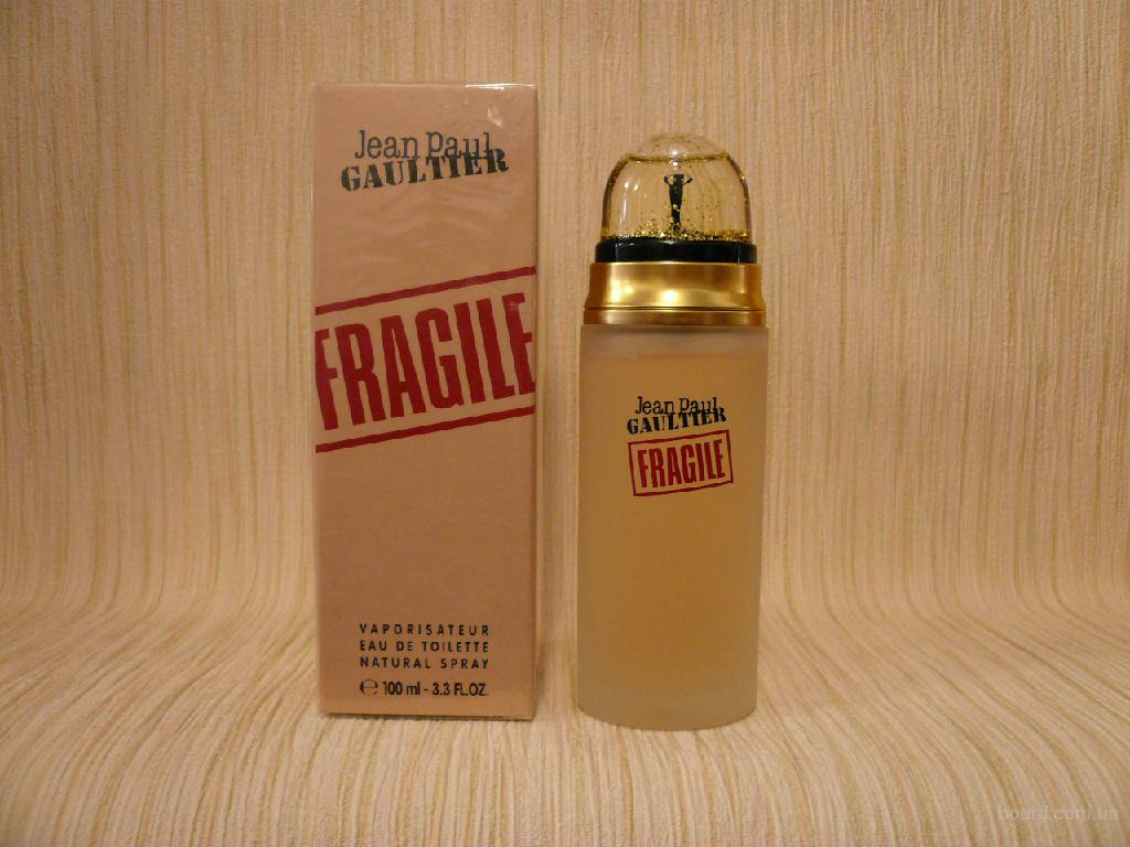 Jean Paul Gaultier - Fragile (1999) - edt 100ml - оригинал, раритет!