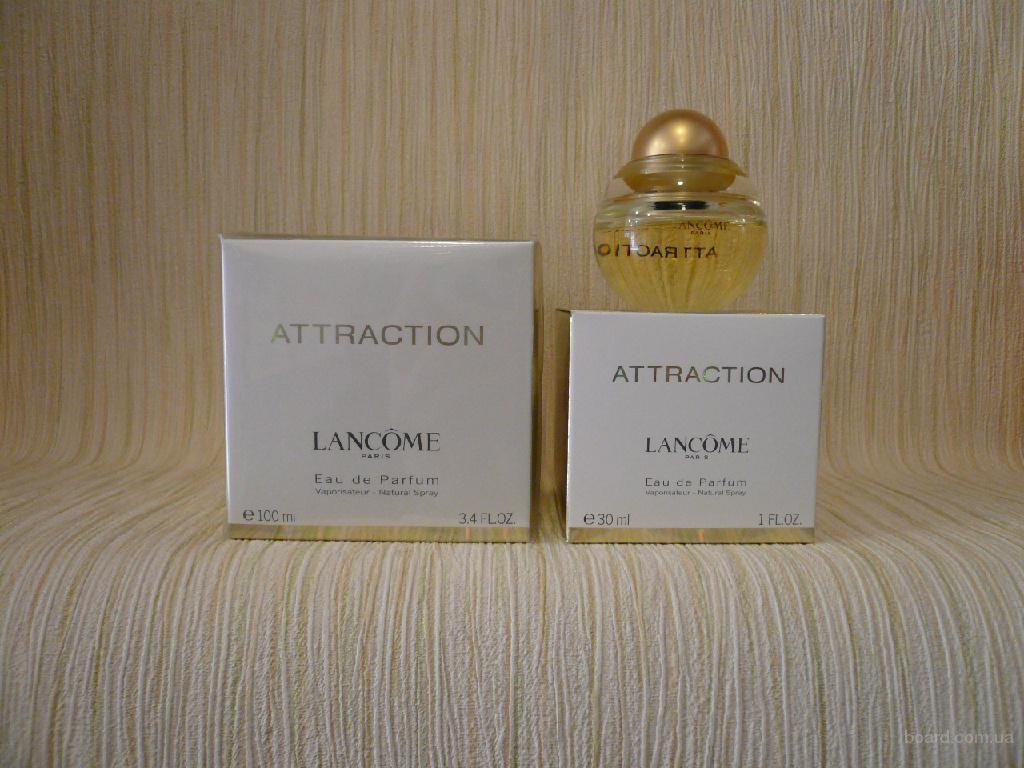 Lancome - Attraction (2003) - edp 30ml - оригинал, раритет!