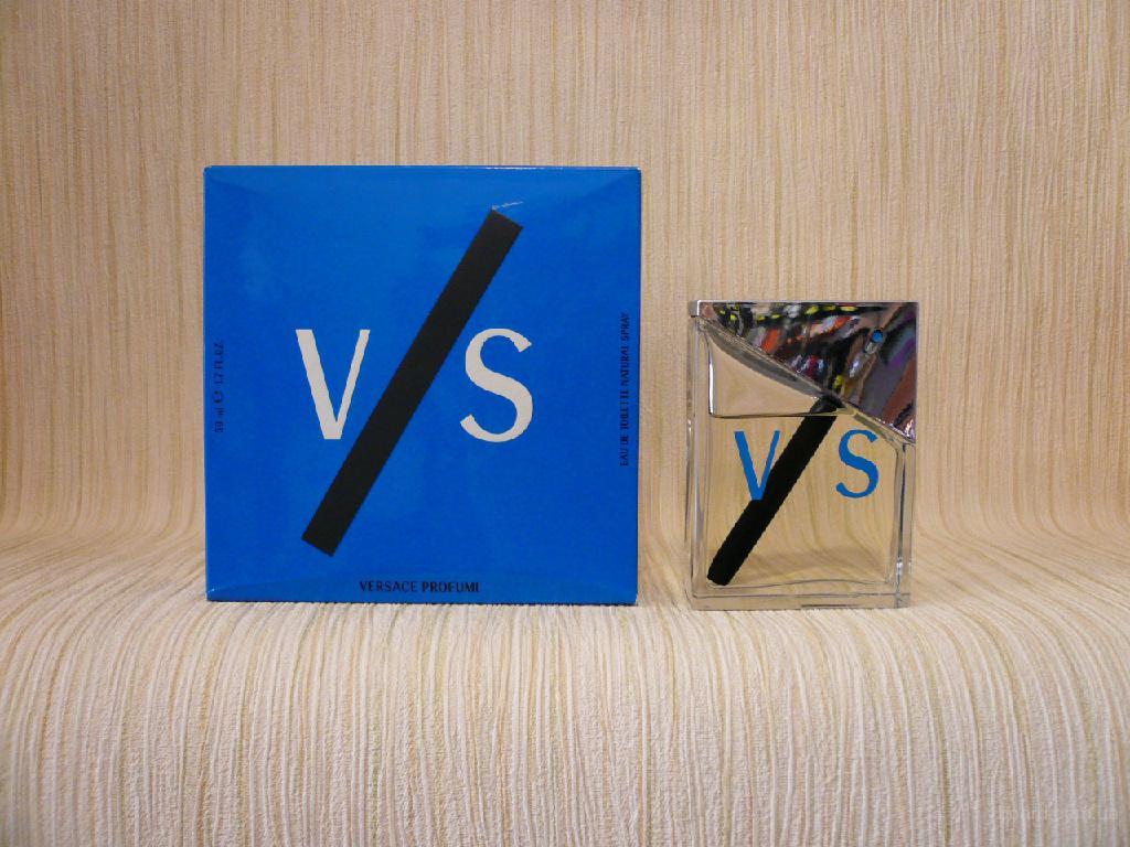 Versace - V/S Versus Pour Homme (2000) - edt 50ml - оригинал, раритет
