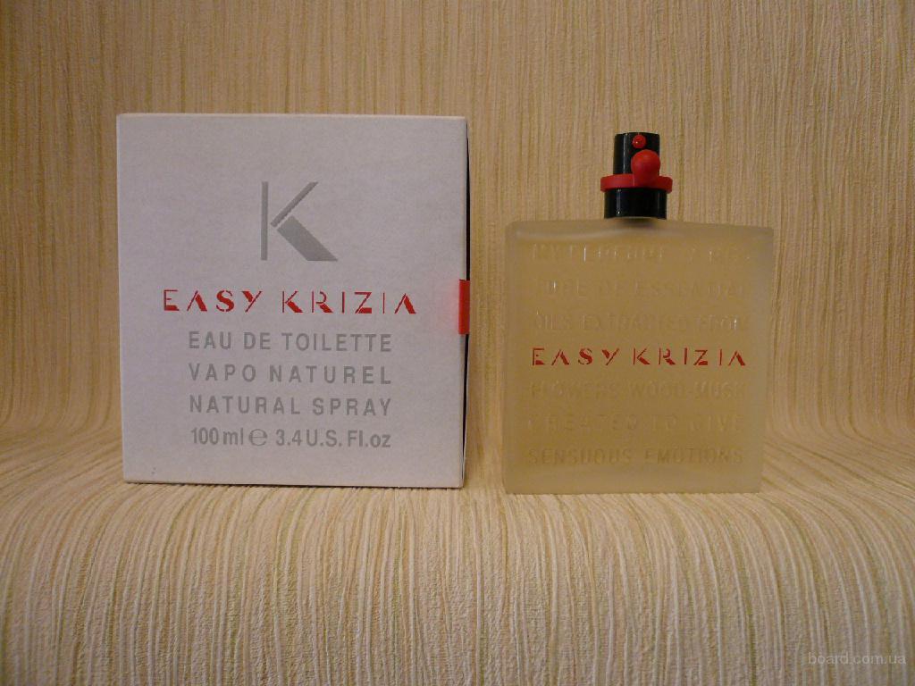 Krizia - Easy Krizia (1999) - edt 100ml - Редкая Оригинальная Парфюмерия