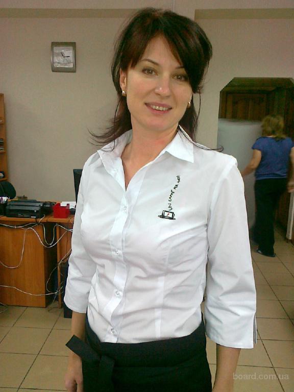 пошив классических блузок для администраторов и официанток