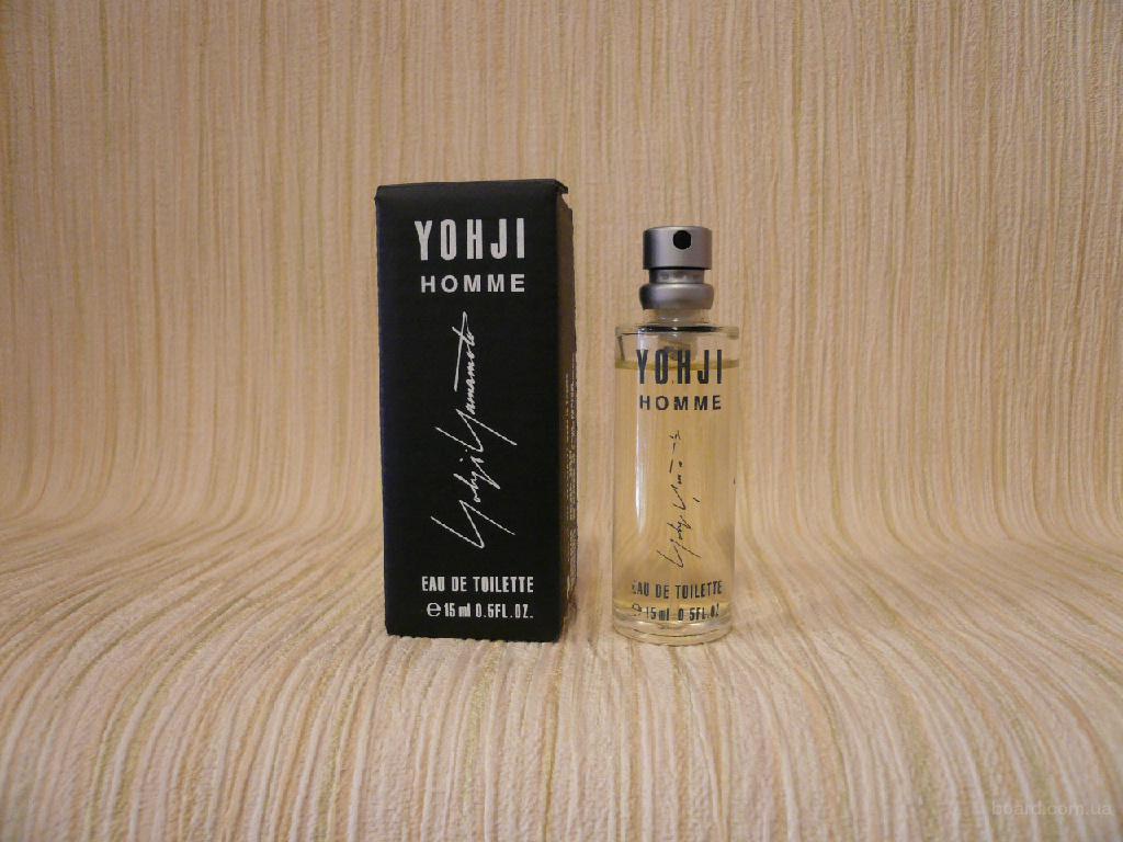 Yohji Yamamoto - Yohji Homme (1999) - edt 15ml - Редкая Оригинальная Парфюмерия