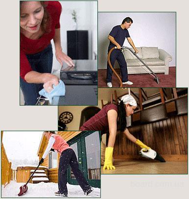 Предоставляем услуги по уборке квартир, домов, офисов по доступной цене