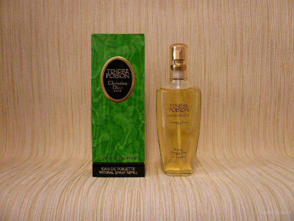 Dior - Tendre Poison (1994) - edt 75ml - оригинал, раритет