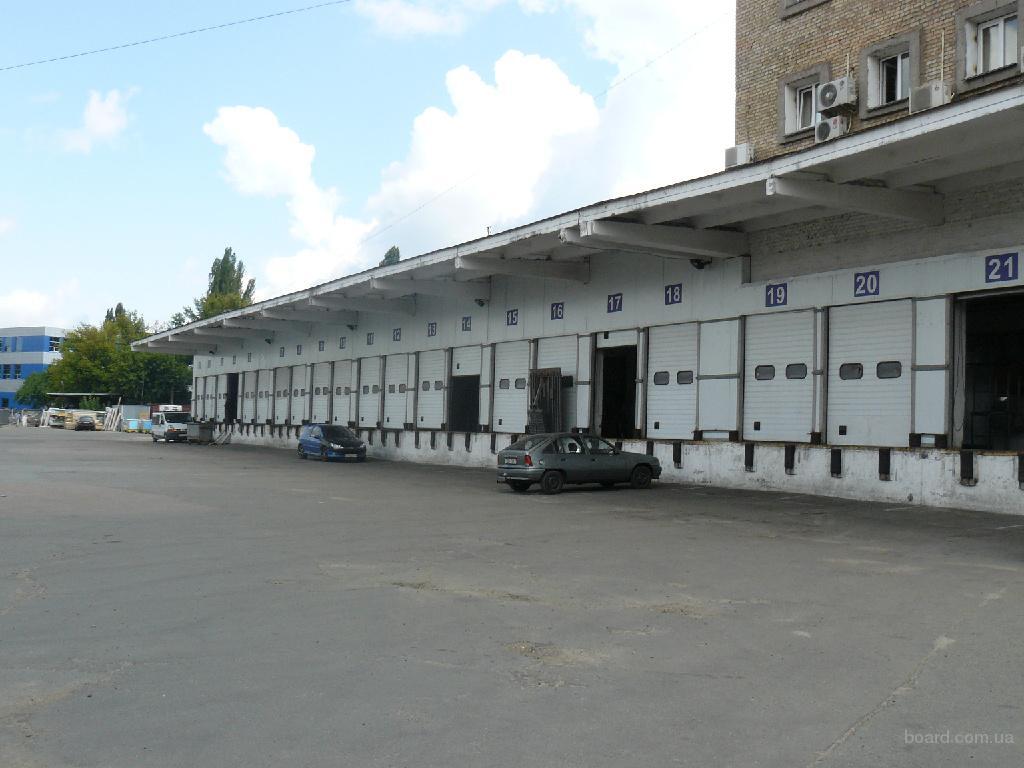 Сдаются складские помещения в Днепровском р-не, 10 мин. от ст.м. Черниговская.