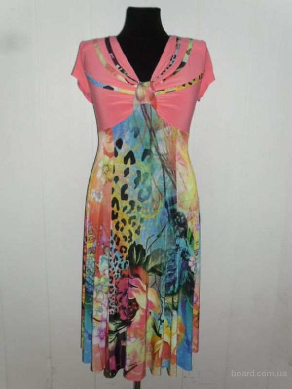 Летние платья туники
