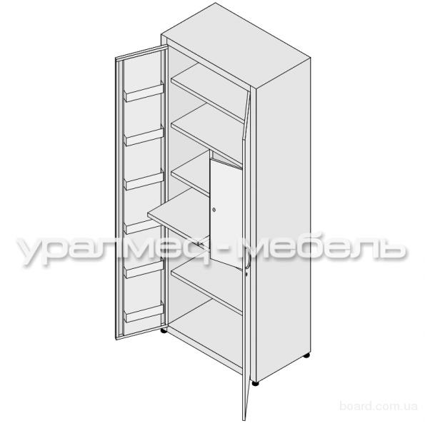 Шкафы металлические для медикаментов в Екатеринбурге