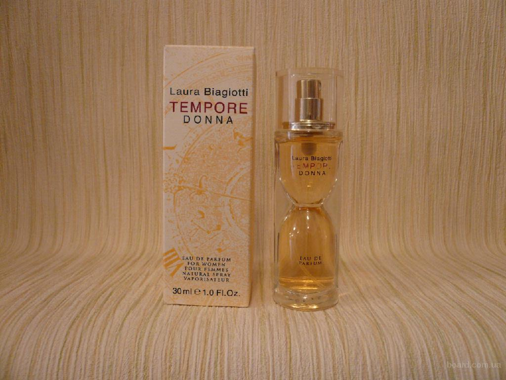 Laura Biagiotti - Tempore (1999) - edp 100ml (tester) - оригинал