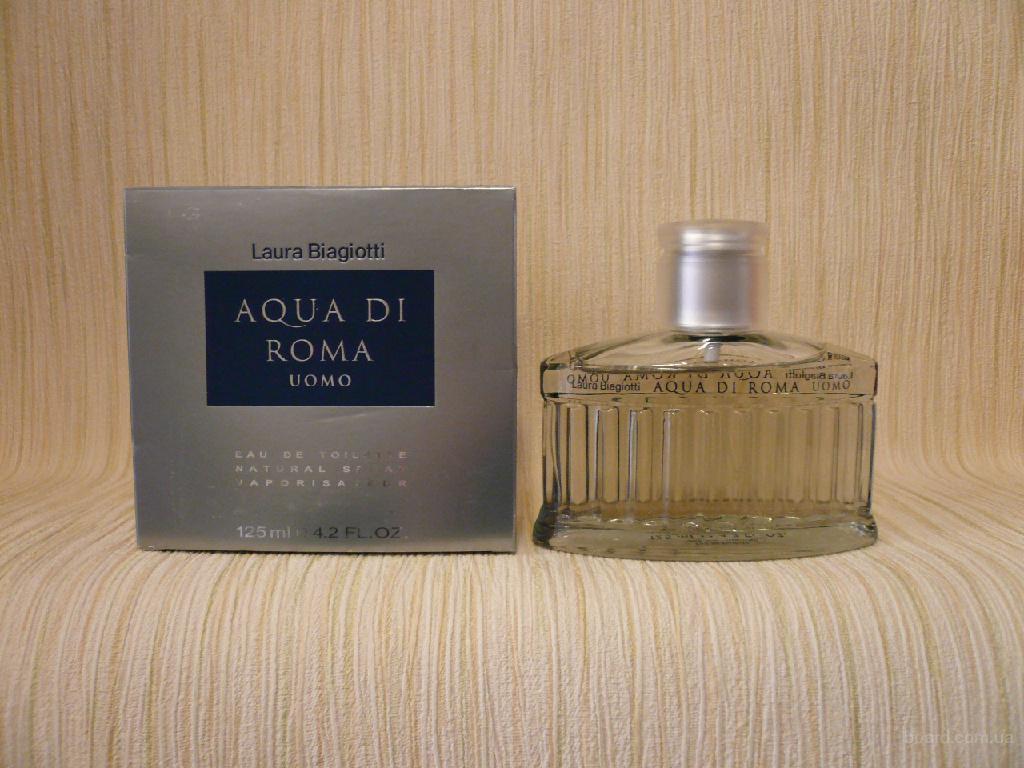 Laura Biagiotti - Aqua Di Roma Uomo (2004) - edt 125ml (tester) - Редкая Оригинальная Парфюмерия