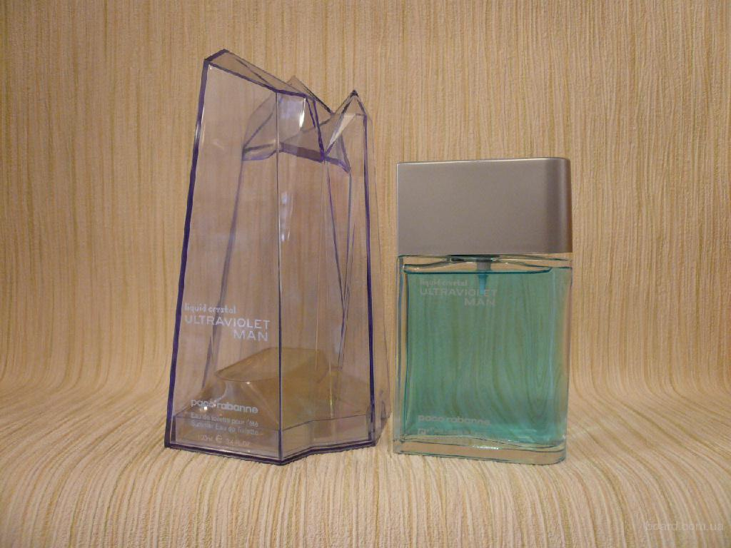 Paco Rabanne - Ultraviolet Liquid Crystal Man (2003) - edt 100ml - оригинал