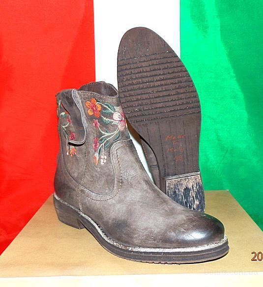 Ботинки-сапоги женские кожаные Alkimia оригинал п-о Италия