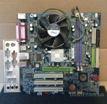 Продам материнку 775 сокету под AGP видеокарту и DDR3200