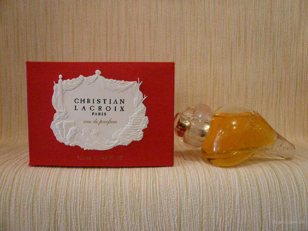 Christian Lacroix - Christian Lacroix (1999) - edp 125ml - Редкая Оригинальная Парфюмерия